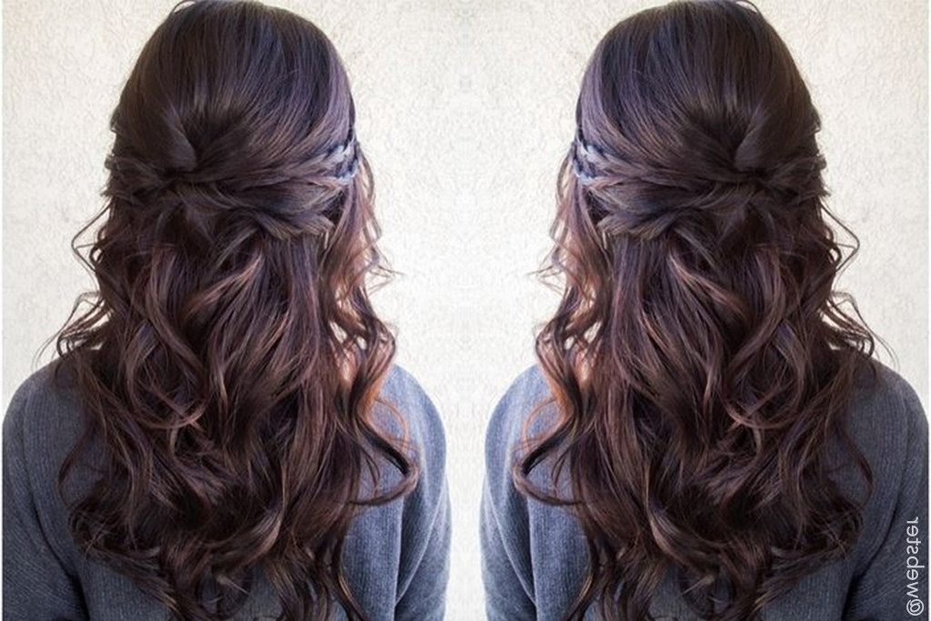 Easy Updos For Long Hair | Glam & Gowns Blog In Most Recent Half Updos For Long Hair (View 10 of 15)