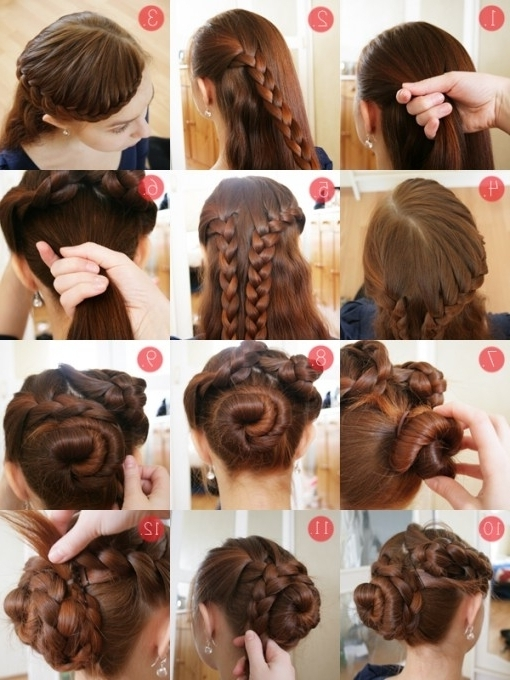 Easy Updos For Long Thick Hair – Hairstyle Fo? Women & Man Intended With Most Popular Hair Updo Hairstyles For Thick Hair (View 3 of 15)