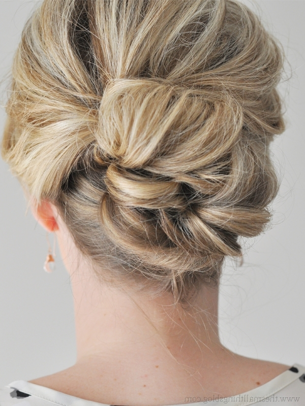 Easy Updos Long Hair – Hairstyle For Women & Man For Most Current Updos For Long Hair (View 12 of 15)