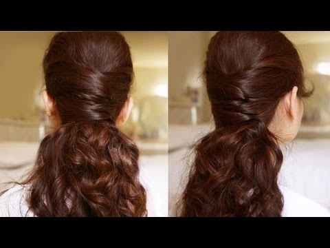 Elegance Half Updo Hair Tutorial – Youtube For Recent Elegant Half Updo Hairstyles (View 9 of 15)
