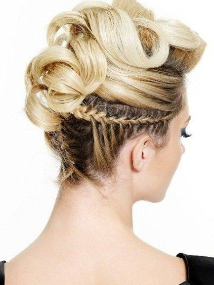 Elegant Christmas Hairstyle Ideas   Hair   Pinterest   Christmas Inside Most Up To Date Funky Updo Hairstyles For Long Hair (View 3 of 15)