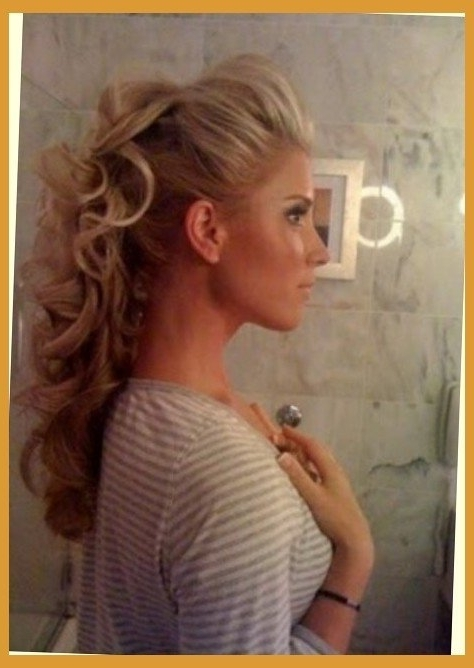 Elegant Partial Updo For Long Hair With Regard To Your Hairdo For Most Current Partial Updo Hairstyles (View 9 of 15)