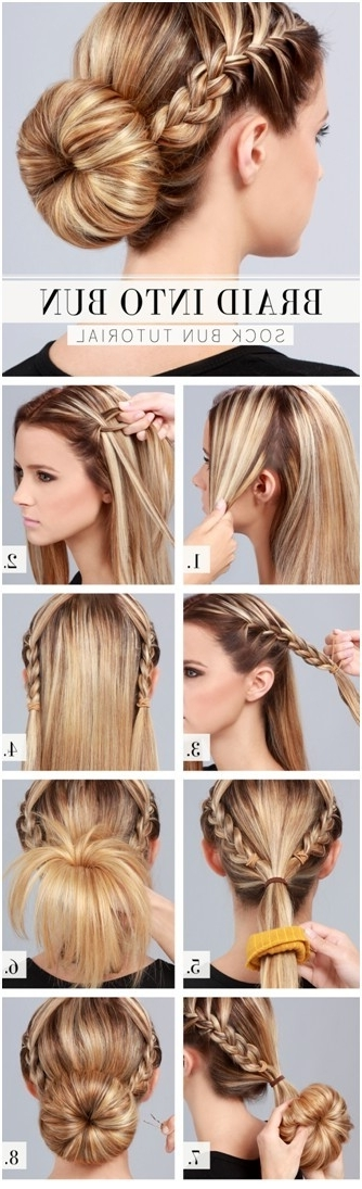 Everyday Updo Hairstyle For Medium Long Hair – Hairstylesunixcode Regarding Most Recently Everyday Updo Hairstyles For Long Hair (View 10 of 15)