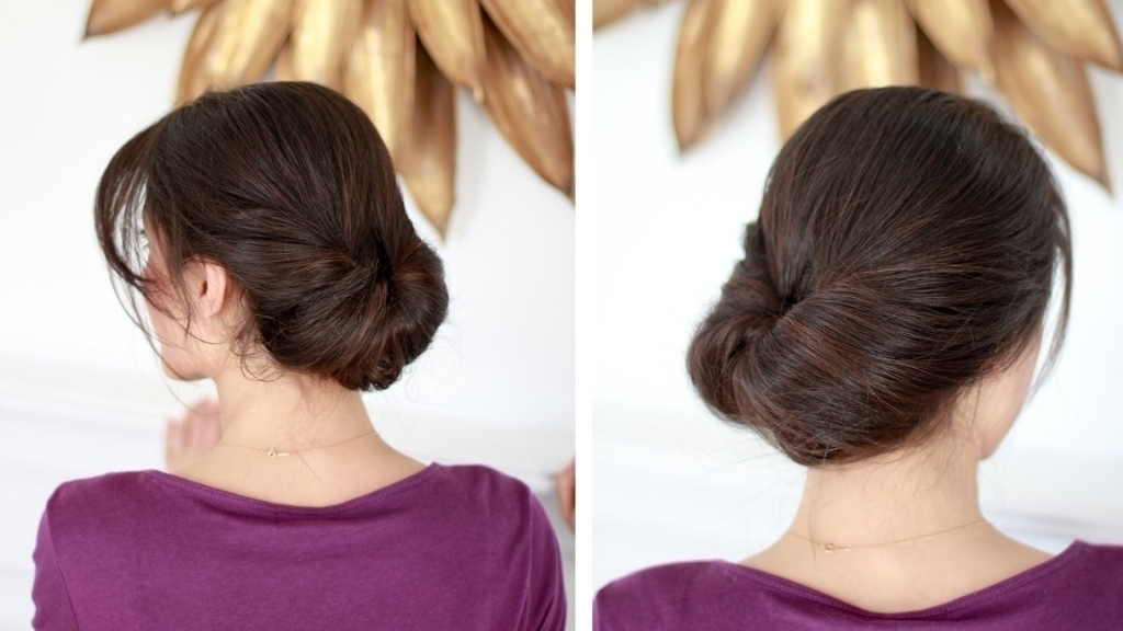 Everyday Updo Hairstyles For Long Hair Easy Everyday Updo Youtube Inside Most Recently Easy Everyday Updo Hairstyles For Long Hair (View 10 of 15)