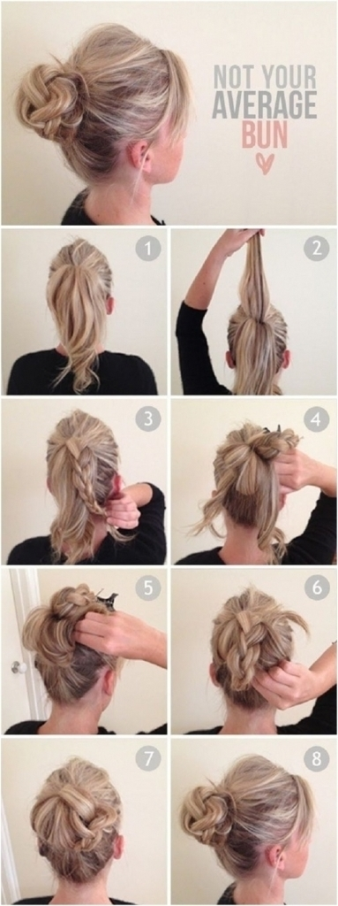 Everyday Updo Hairstyles For Long Hair – Popular Long Hairstyle Idea Within Most Recently Cute And Easy Updo Hairstyles For Short Hair (View 13 of 15)