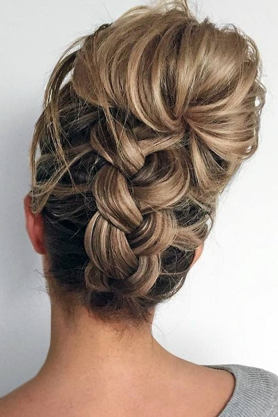 Fancy Updos For Medium Length Hair ? See More: Http In Most Recent Fancy Updos For Medium Length Hair (View 13 of 15)