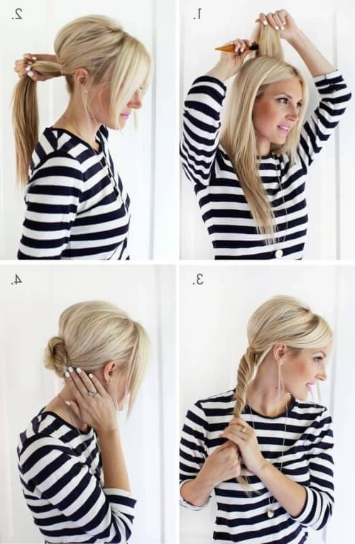 Fast & Fab: 10 Easy Updos That Will Surprise Everyone With Regard To Best And Newest Easiest Updo Hairstyles (View 14 of 15)
