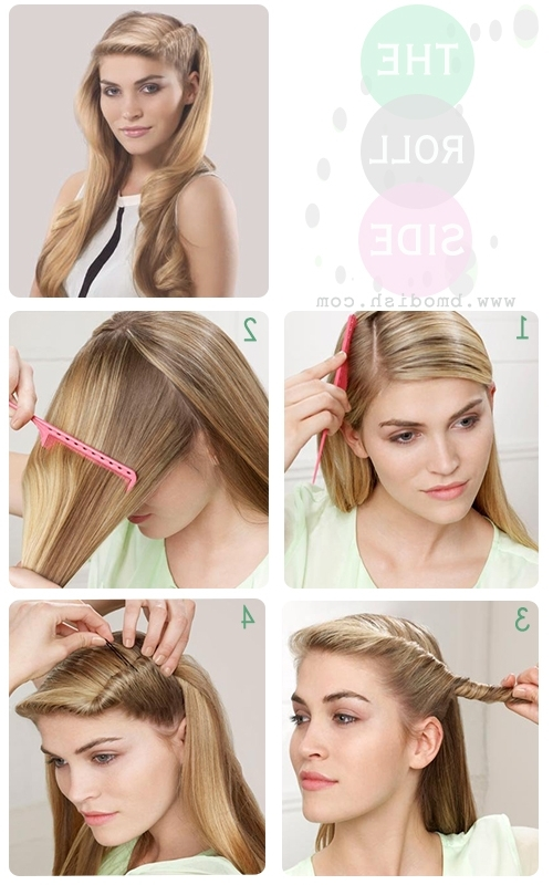 Five Minutes Hairstyle Ideas From Bmodish | Side Hairstyles Within Most Popular Easy Vintage Updo Hairstyles (View 9 of 15)