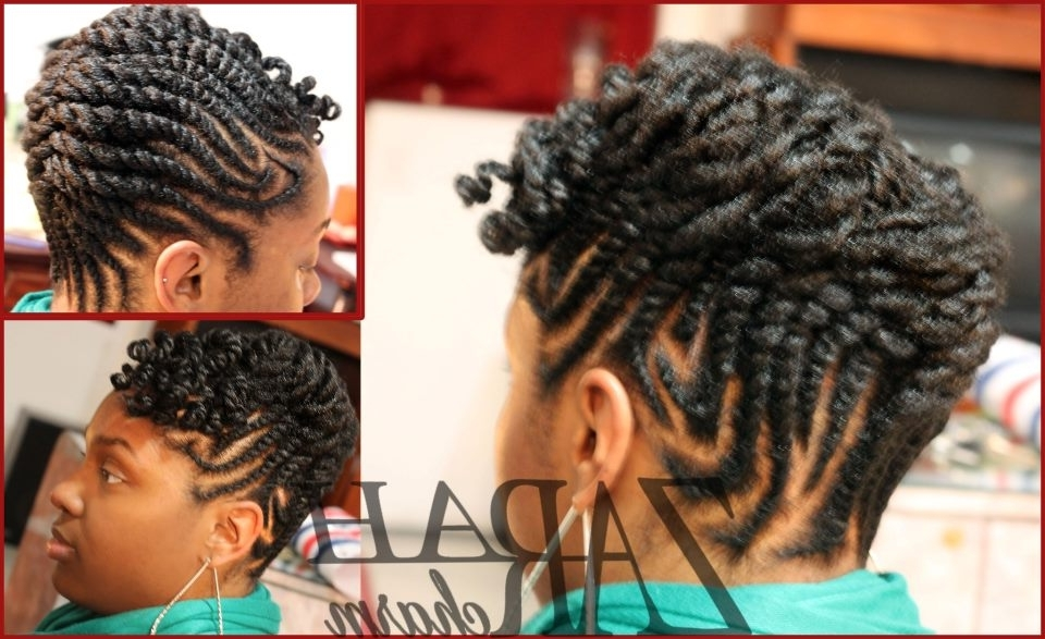 Flat Twist Updo For Natural Hair | Hair In Most Up To Date Flat Twist Updo Hairstyles On Natural Hair (View 4 of 15)