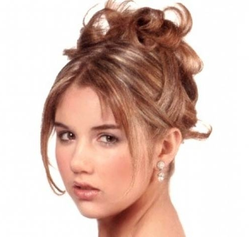 For Long Hair With Bangs And Layers In Most Current Updos For Long Hair With Bangs (View 4 of 15)