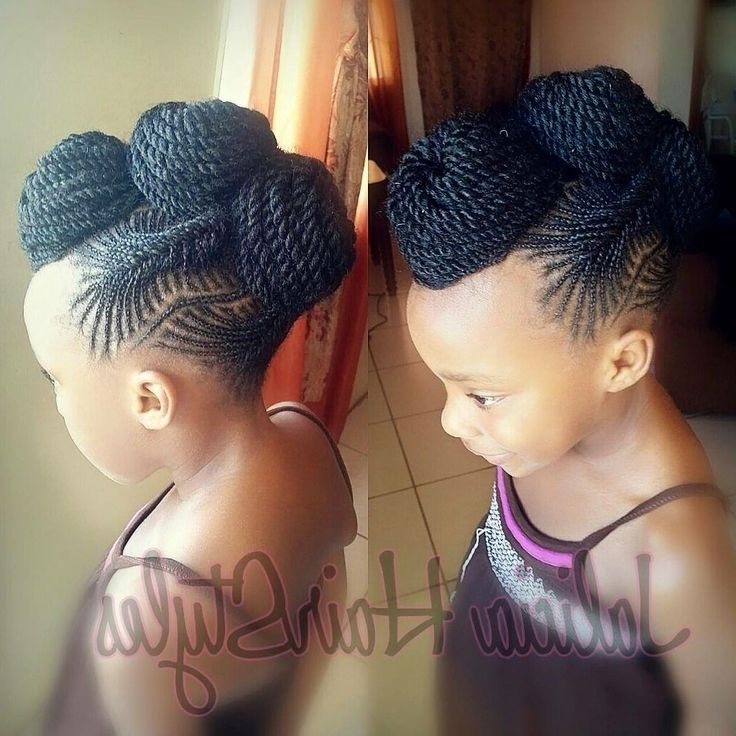 Formal Hairstyles For Children\'s Natural Hairstyles Best Images In Most Popular Children's Updo Hairstyles (View 4 of 15)