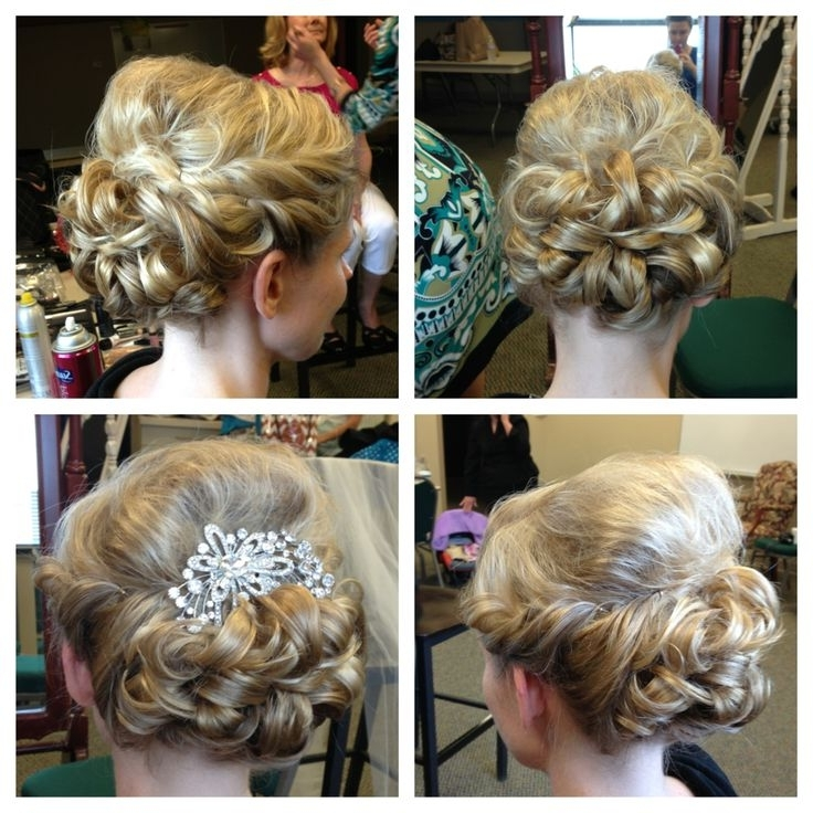 Formal Hairstyles For Medium Length Fine Hair – The Newest Hairstyles Regarding Most Up To Date Updos For Medium Length Thin Hair (View 13 of 15)