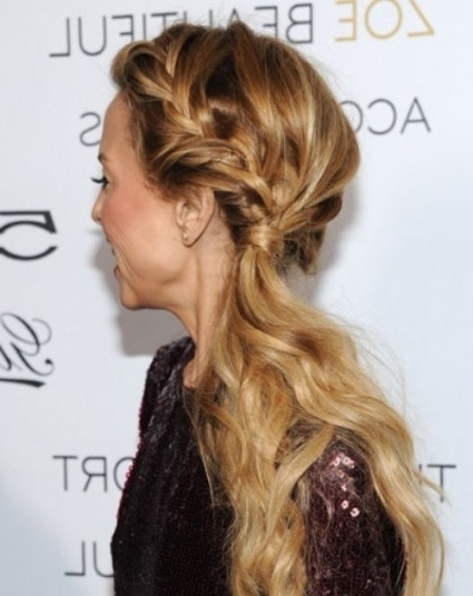 Formal Hairstyles Side Ponytail: Formal Hairstyles Side Ponytail With Regard To Most Recent Long Hair Side Ponytail Updo Hairstyles (View 5 of 15)