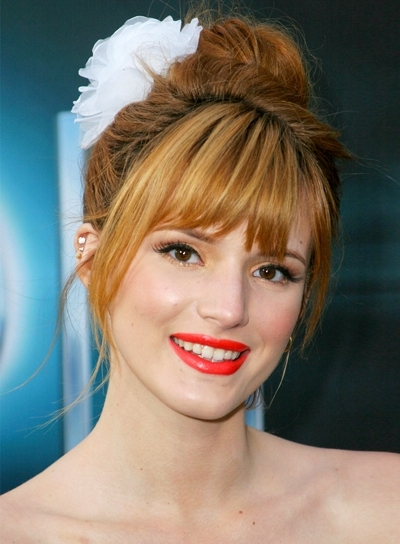Featured Photo of Updo Hairstyles With Bangs