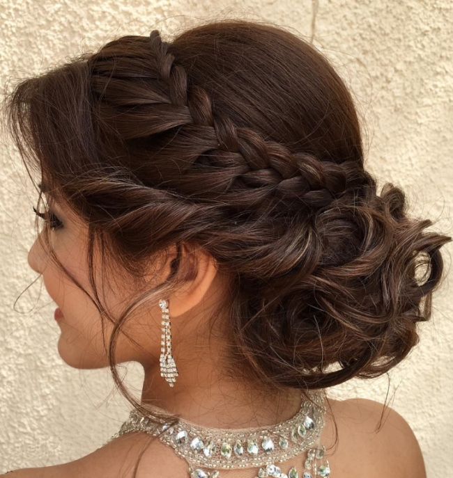 Formal Updo Hairstyles For 2017 | Hairstyles 2018 New Haircuts And Within Most Recent Updo Hairstyles (View 12 of 15)