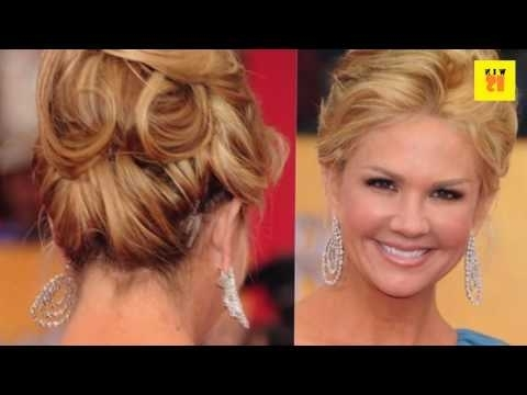 French Twist Updos Hairstyle For 50 Years Women – Youtube For 2018 Updo Hairstyles For Older Women (View 5 of 15)