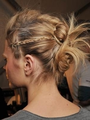 Funky Knot And Braid Updo   Hair   Pinterest   Updo, Hair Style And Within Latest Funky Updo Hairstyles For Long Hair (View 13 of 15)