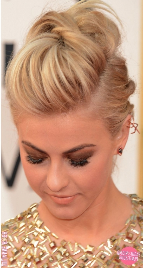 Funky Updo Hairstyles 1000+ Ideas About Short Hair Updo On Pinterest Inside 2018 Funky Updo Hairstyles For Long Hair (View 5 of 15)