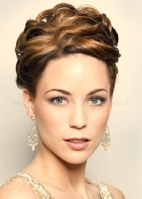 Gallery For > Updo Hairstyles For Weddings Mother Of The Bride In Latest Mother Of The Bride Updo Hairstyles For Weddings (View 11 of 15)