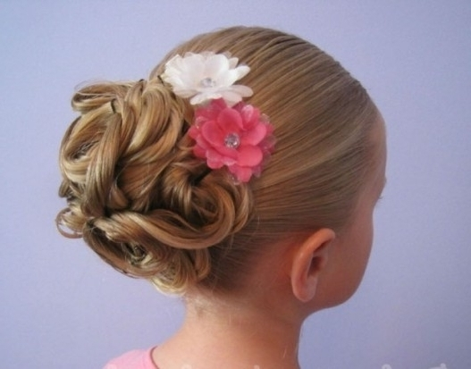 Girl Updo Hairstyles Is One Of The Best Idea For You To Remodel Within Recent Little Girl Updo Hairstyles (Gallery 8 of 15)