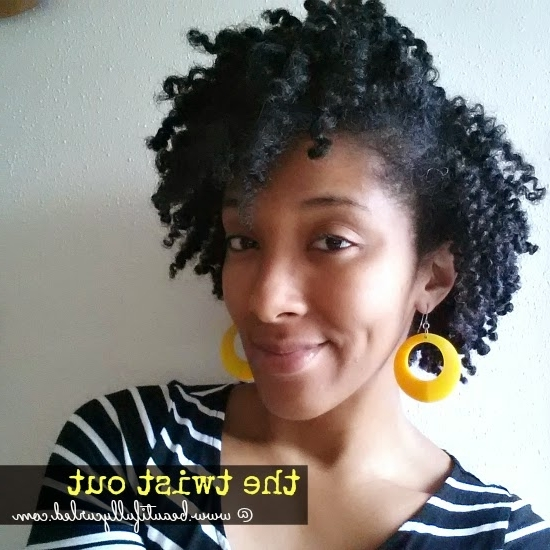 Goodbye 12 Day Updo   Hello Twist Out Hairstyles – Beautifully Curled With Most Up To Date Updo Twist Out Hairstyles (View 6 of 15)