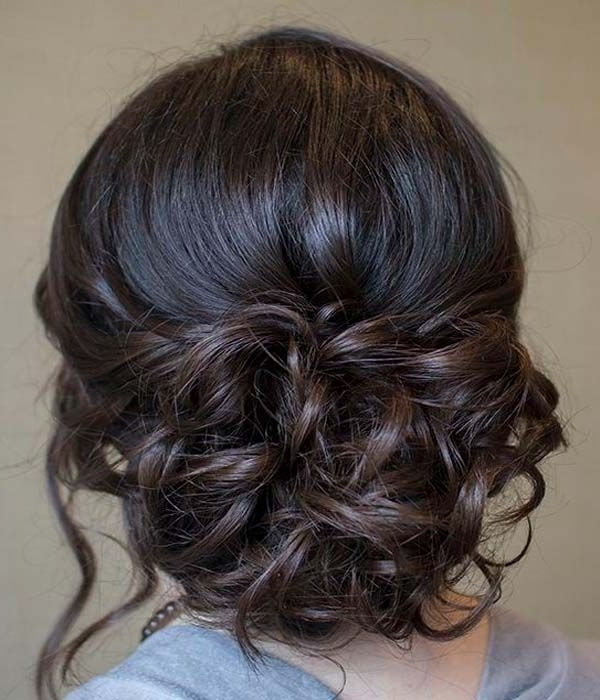 Gorgeous Updo Hairstyles For Prom | Sang Maestro With Regard To Newest Homecoming Updo Hairstyles (Gallery 7 of 15)