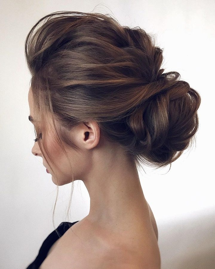 Gorgeous Wedding Hairstyles From Updo,chignon Hairstyles | Messy With Regard To Latest Messy Updo Hairstyles (View 2 of 15)