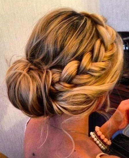 Graceful And Beautiful Low Side Bun Hairstyle Tutorials And Hair Intended For Newest Updo Hairstyles For Thick Hair (Gallery 13 of 15)