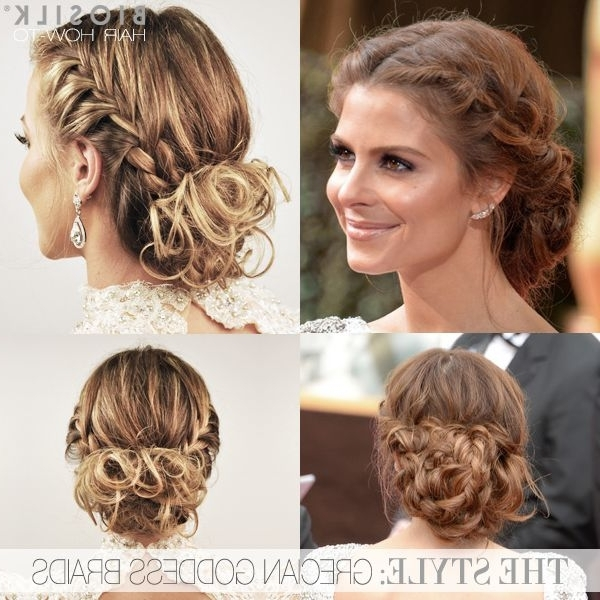 Grecian Goddess Updo – Glam Radar Pertaining To Most Recent Goddess Updo Hairstyles (View 9 of 15)
