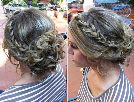 Hair For Semi Formal | Semi Formal | Pinterest | Formal, Prom And With Newest Messy Updo Hairstyles For Prom (View 6 of 15)