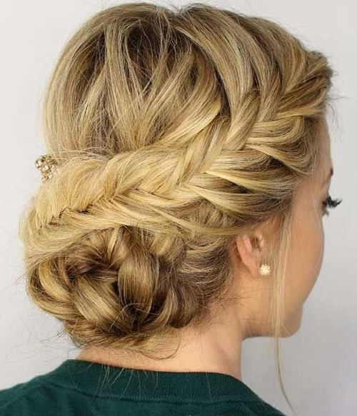 Hair – Formal Hairstyles #2655989 – Weddbook Regarding 2018 Formal Updo Hairstyles For Medium Hair (View 11 of 15)