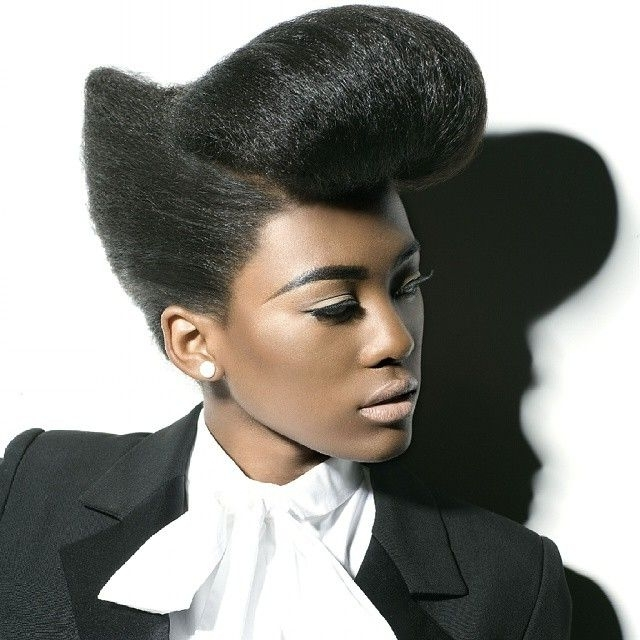 Hairgary Hooker & Michael Young & Michelle Sultan Hype Coiffure Pertaining To Latest Hype Updo Hairstyles (View 3 of 15)