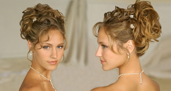 Hairstyle Makmbut: Curly Updo Hairstyles For Medium Length Hair Throughout Most Recently Curly Updo Hairstyles For Medium Length Hair (View 10 of 15)