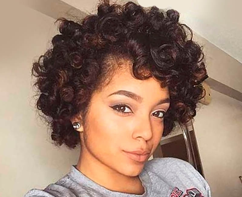 Hairstyles For African American Women And Girls Throughout Current Updos For African American Natural Hair (View 9 of 15)