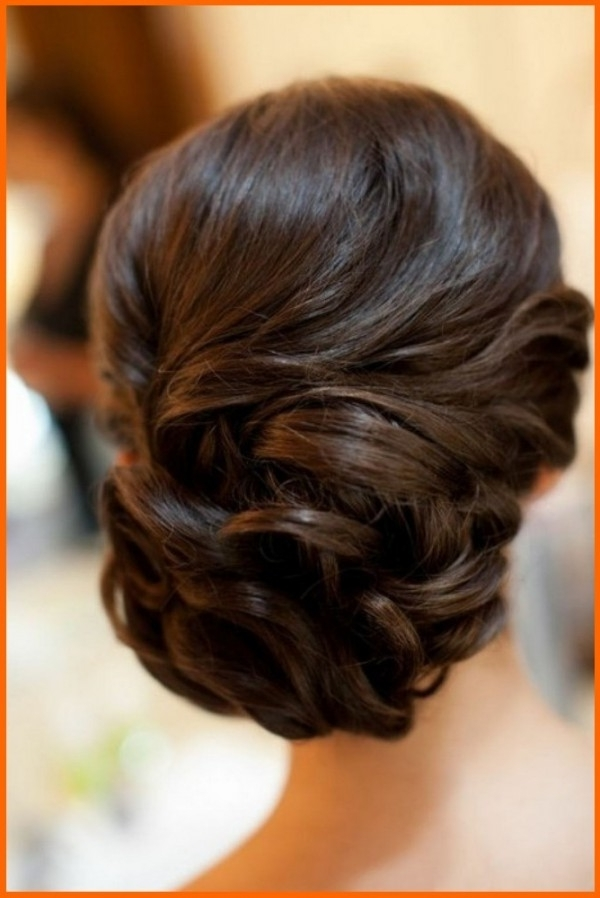 Hairstyles For Shoulder Length Hair With Regard To Current Updo Hairstyles With Bangs For Medium Length Hair (View 13 of 15)