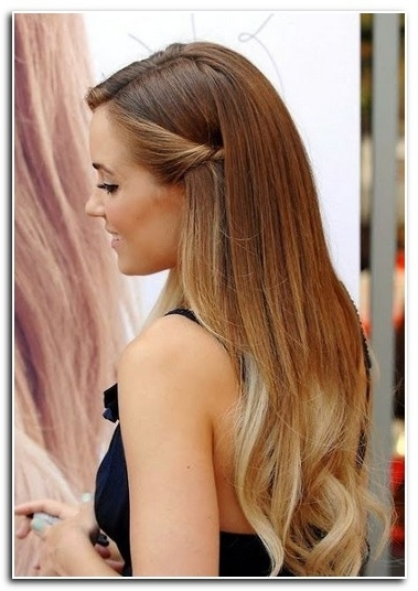 Hairstyles For Straight Hair For Prom   New Hairstyle Designs With Regard To Current Straight Hair Updo Hairstyles (View 4 of 15)
