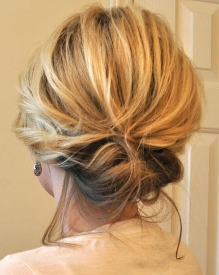 Hairstyles For Thin Hair Updos – Hairstylesunixcode Within 2018 Updos For Medium Length Thin Hair (View 6 of 15)