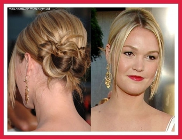 Hairstyles For Thin Hair Updos Special Occasion Updo Fine | Medium Regarding Most Recent Updo Hairstyles For Thin Hair (View 8 of 15)