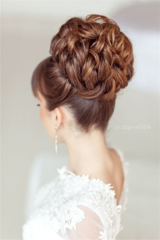 Hairstyles Ideas : Bridal Updo Hairstyles For Long Hair Wedding With Most Current Bridal Updo Hairstyles (View 11 of 15)