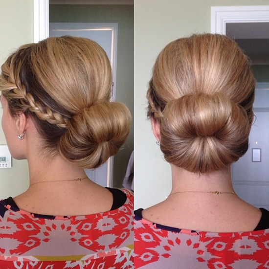 Half Crown Braid Archives – Vpfashion Vpfashion Pertaining To Latest Braided Updo Hairstyles With Extensions (View 13 of 15)
