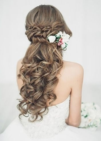 Half Up Half Down Wedding Hairstyles Anyone Would Love Intended For Recent Wedding Half Updo Hairstyles (View 13 of 15)