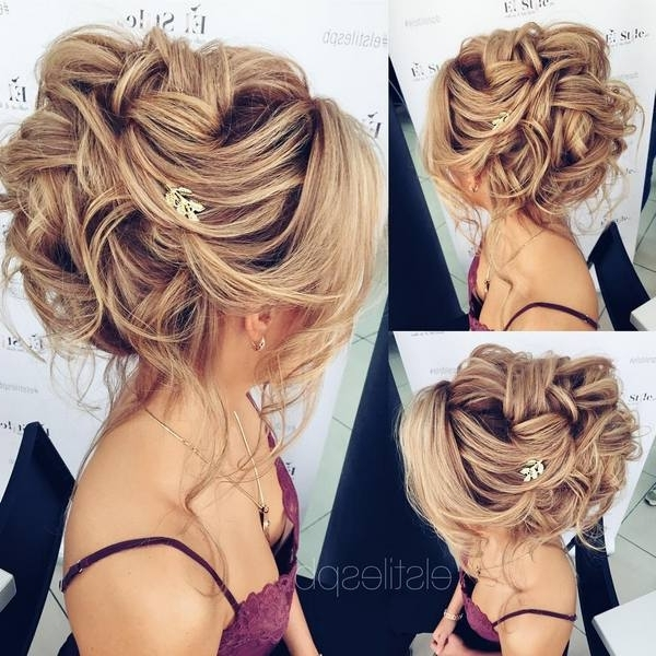 Half Updo, Braids, Chongos Updo Wedding Hairstyles | Deer Pearl Flowers Regarding Recent Elegant Half Updo Hairstyles (View 14 of 15)