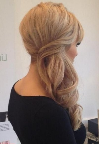 Half Updo Prom Hairstyles 2015 For Long Hair Intended For Most Up To Date Elegant Half Updo Hairstyles (View 12 of 15)