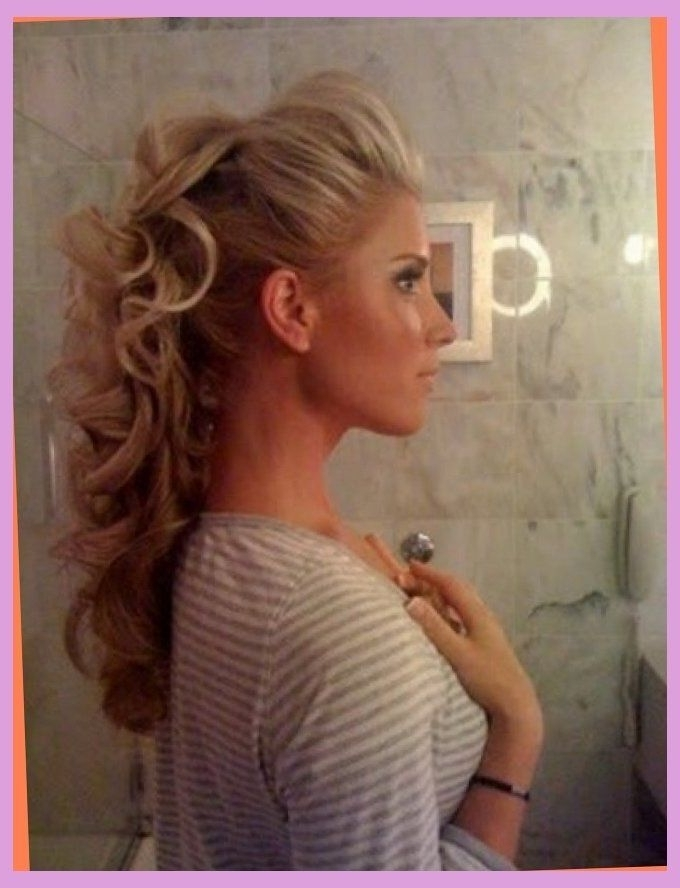 Half Updo Prom Hairstyles 2015 For Long Hair With Partial Updo For With Regard To Recent Partial Updo Hairstyles For Long Hair (View 9 of 15)