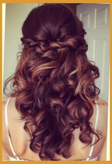 Half Updos For Long Hair Prom | Hairstyles Pictures Inside Prom Regarding Most Current Partial Updo Hairstyles (View 6 of 15)