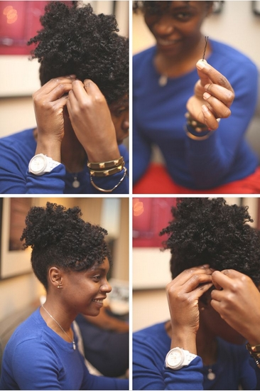 Here Are 8 Updos That Work Great On Natural & Curly Hair For Newest Updo Twist Out Hairstyles (View 10 of 15)