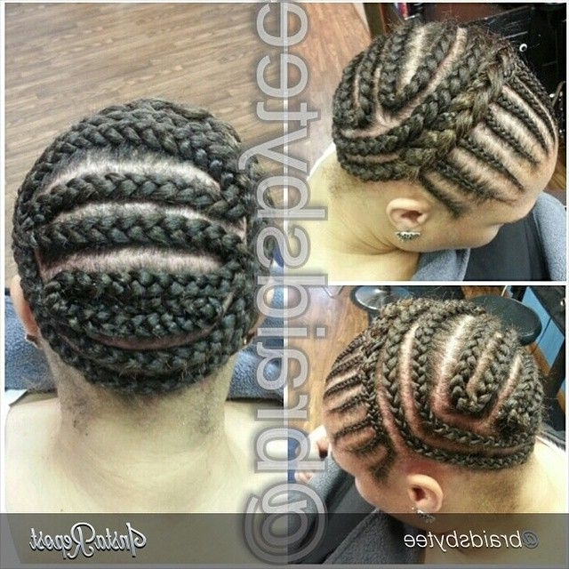 Here's How You Can Install Super Long Goddess Faux Locs On Any Hair For Most Recent Crochet Braid Pattern For Updo Hairstyles (View 9 of 15)