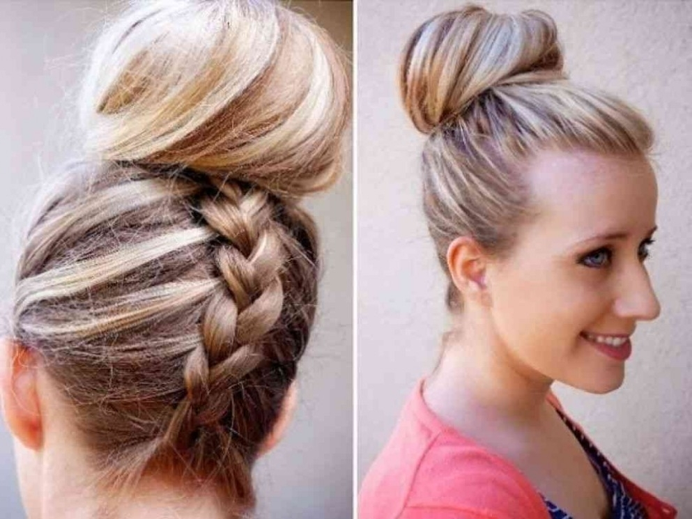 Here's What No One Tells You About Fast Hairstyles | Fast With Regard To Newest Easiest Updo Hairstyles For Long Hair (View 10 of 15)