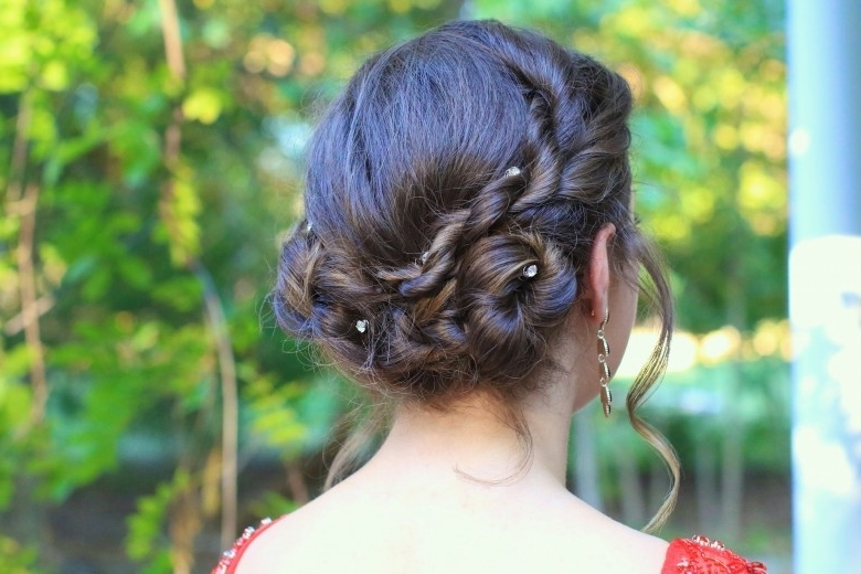 Homecoming | Cute Girls Hairstyles With Current Cute Girls Updo Hairstyles (View 9 of 15)