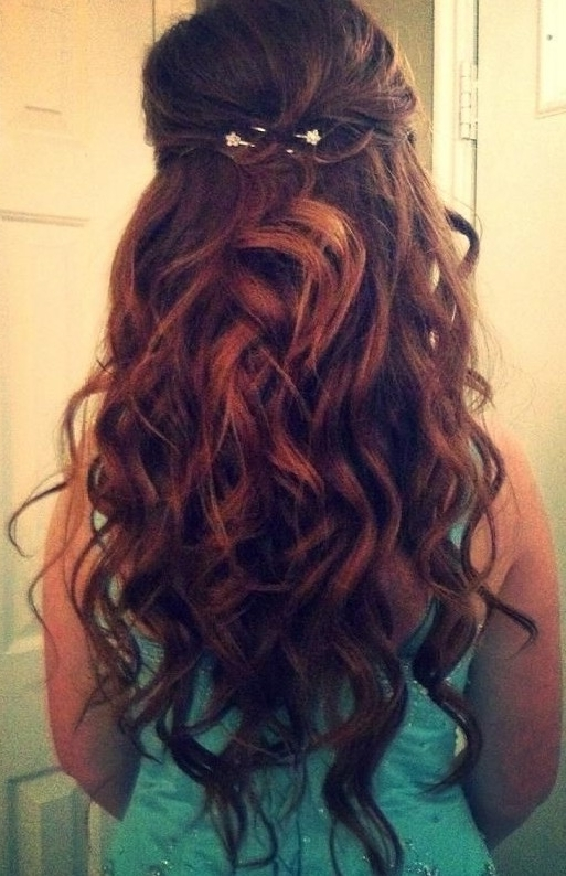 Homecoming Hairstyles For Long Curly Hair – Hairstyle For Women & Man Within Latest Long Curly Hair Updo Hairstyles (View 7 of 15)